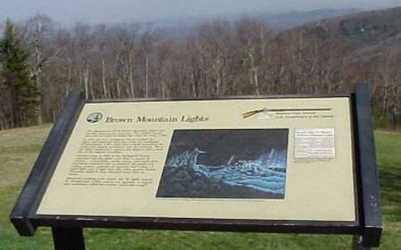 Brown Mountain   Lights